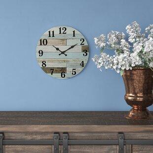 "Adalynn Vintage 14"" Wall Clock"