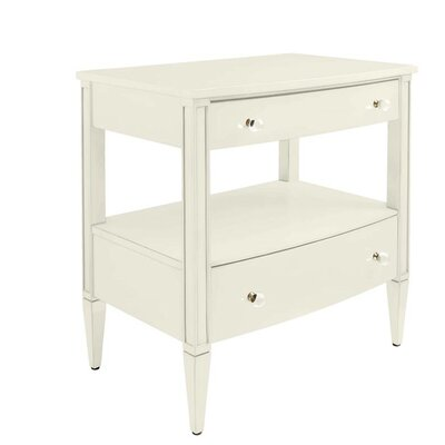 2 Drawer Nightstand Color: Saltbox White by Stone  and  Leigh Furniture