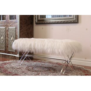 Vosburgh Rectangle Upholstered Bench by House of Hampton