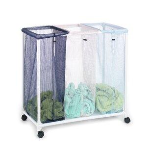 Triple Clothing Laundry Sorter Rebrilliant