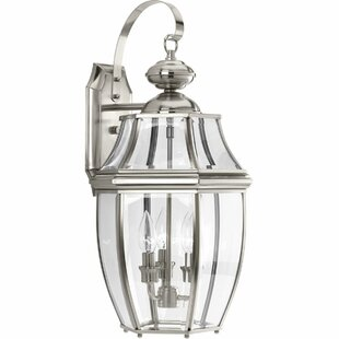 Dunmore 3-Light Outdoor Wall Lantern