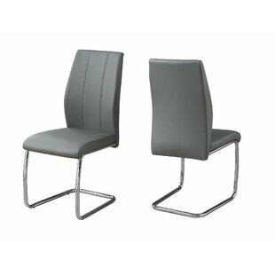 Wade Logan Mixon Upholstered Dining Chair (Set of 2)