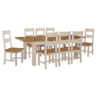 9 Piece Dining Set By August Grove