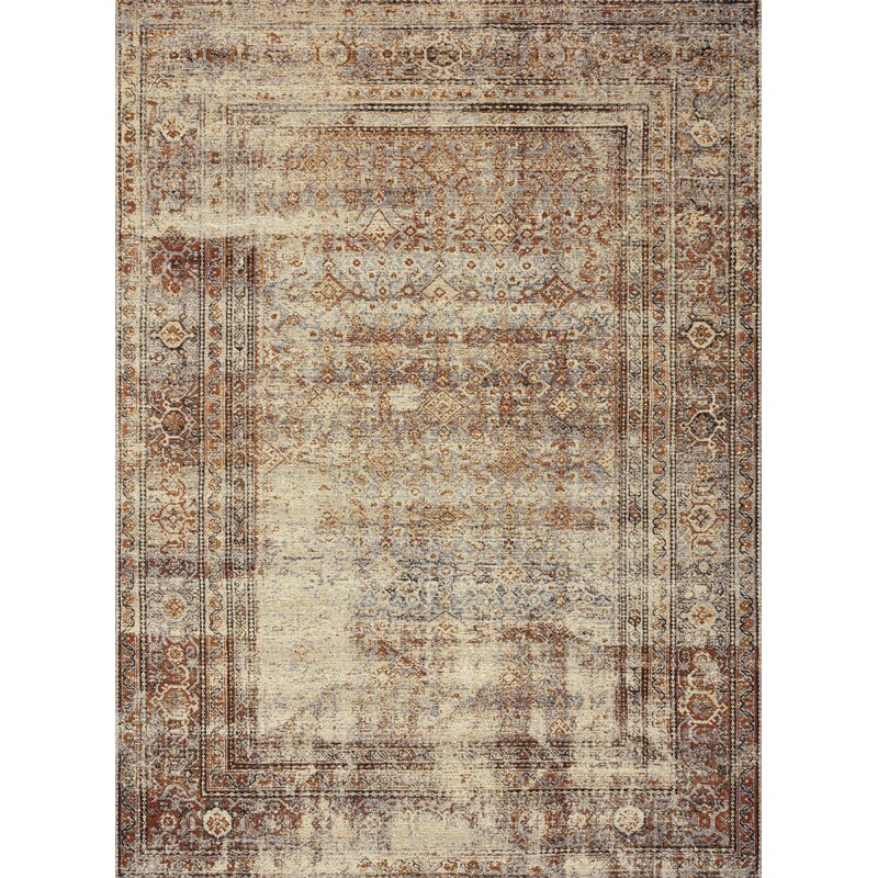 World Menagerie Dirk Natural Brick Area Rug Reviews Wayfair