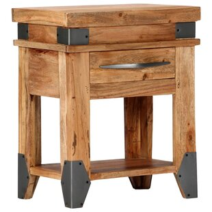 Eldon 1 Drawer Bedside Table By Williston Forge