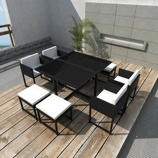 Maglione 8 Seater Dining Set With Cushions Image