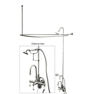 Shower Kit For Clawfoot Tub Wayfairca