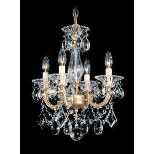 Bon La Scala 4 Light Candle Style Chandelier