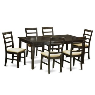Burner 7 Piece Dining Set by Red Barrel Studio Today Sale Only
