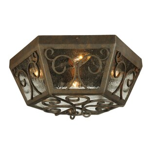 Meyda Tiffany Camilla 4-Light Flush Mount