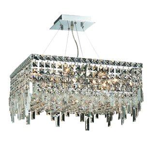 House of Hampton Langer 12-Light Crystal Chandelier