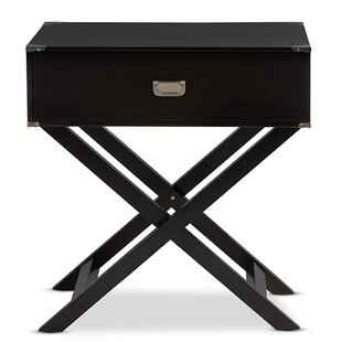 Read Reviews Ickenham Modern 1 Drawer Nightstand by Ivy Bronx