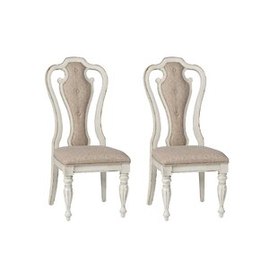 Tiphaine Upholstered Dining Chair (Set Of 2) by Lark Manor Herry Up