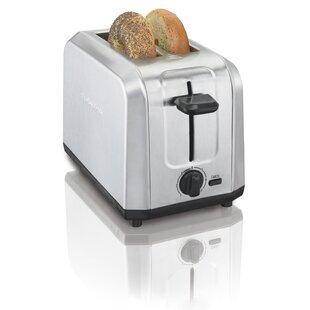 2 Slice Brushed Toaster