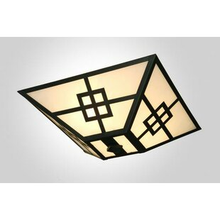 Steel Partners Prairie Drop 2-Light Flush Mount