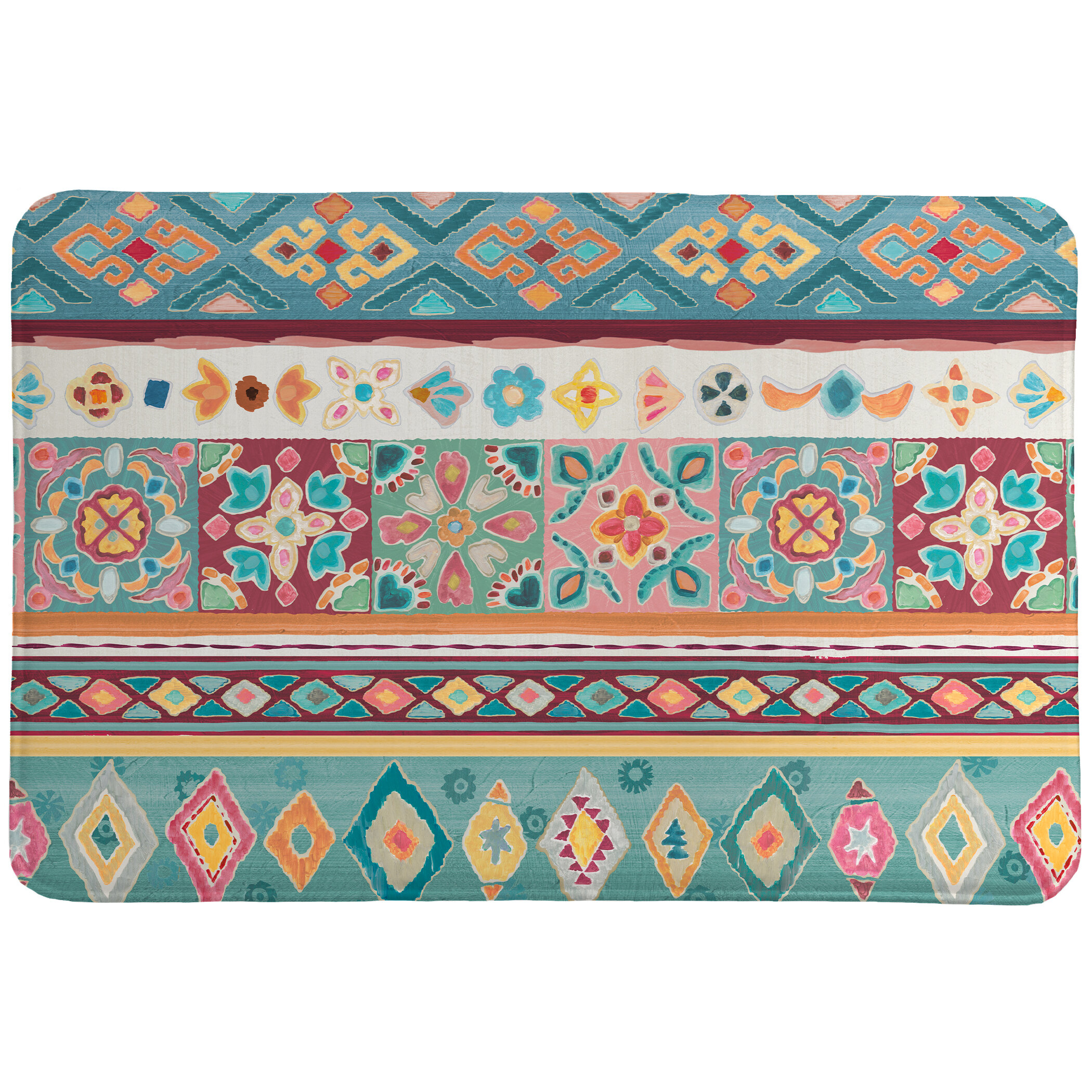 Bungalow Rose Lieven My Bohemian Life Bath Mat Wayfair