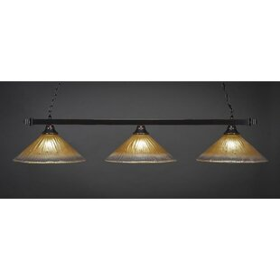 Red Barrel Studio Zimmer 3-Light Billiard Pendant