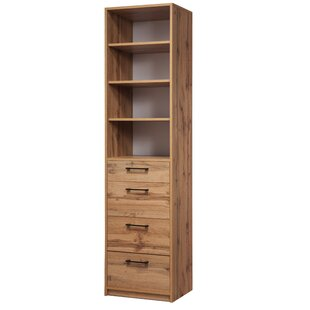 Viviano Standard Bookcase Millwood Pines