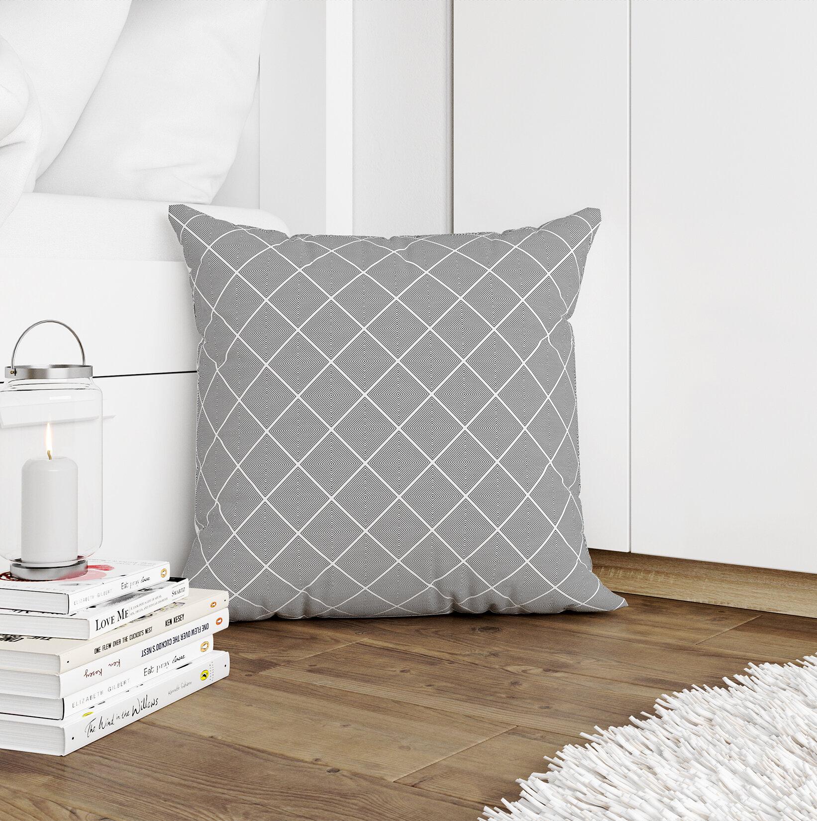 George Oliver Benkelman Geometric Throw Pillow Wayfair