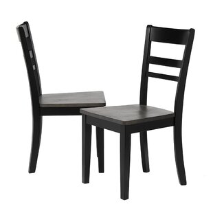 Edmiston Solid Wood Dining Chair (Set of 2) Gracie Oaks
