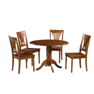 Chesterton 5 Piece Dining Set by Alcott Hill