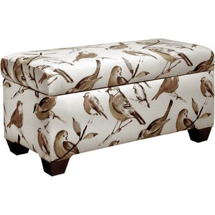 Skyline Furniture Sloane Polyester Upholstered Storage Bench