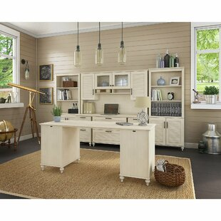 Volcano Dusk 4 Piece Office Set with Hutch