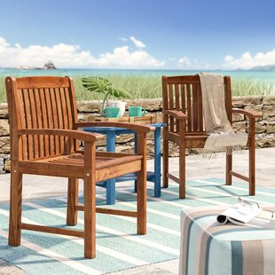 Pine Ridge Patio Dining Chair (Set Of 2) by Beachcrest Home Purchase