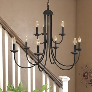 Charlton Home Bordelon 9-Light Chandelier