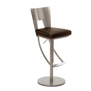 Volkonskaya Adjustable Swivel Bar Stool by Orren Ellis