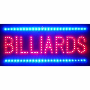 Billiards LED Sign By Neonetics