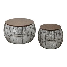 Camden 2 Piece End Table Set by OSP Designs