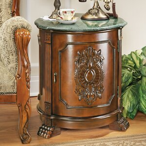 Tambour Manor End Table by Design Toscano