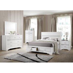 Alessandra Panel Customizable Bedroom Set