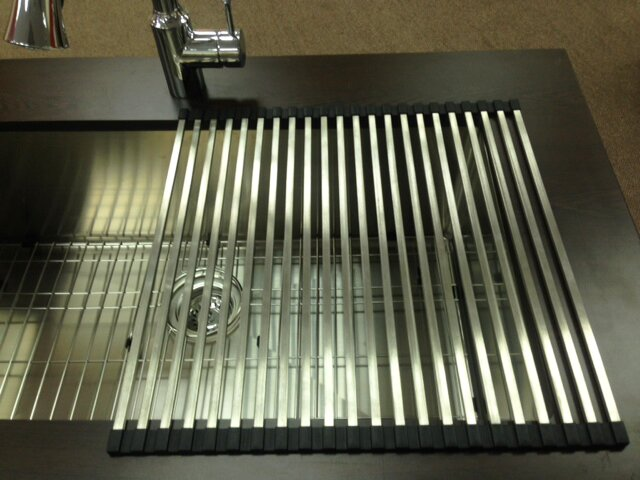 Italia Kitchen Sink Grid Reviews Wayfair