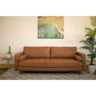 Kathrine Vintage Leather Sofa by Corrigan Studio