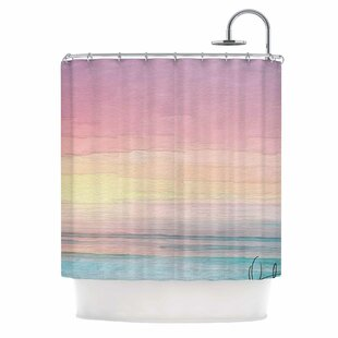Online Reviews 'Capri' Shower Curtain By East Urban Home