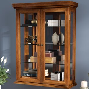 Denya Wall-Mounted Curio Cabinet By Design Toscano