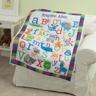 Kistner Personalized ABC Quilt ebc3aa93a