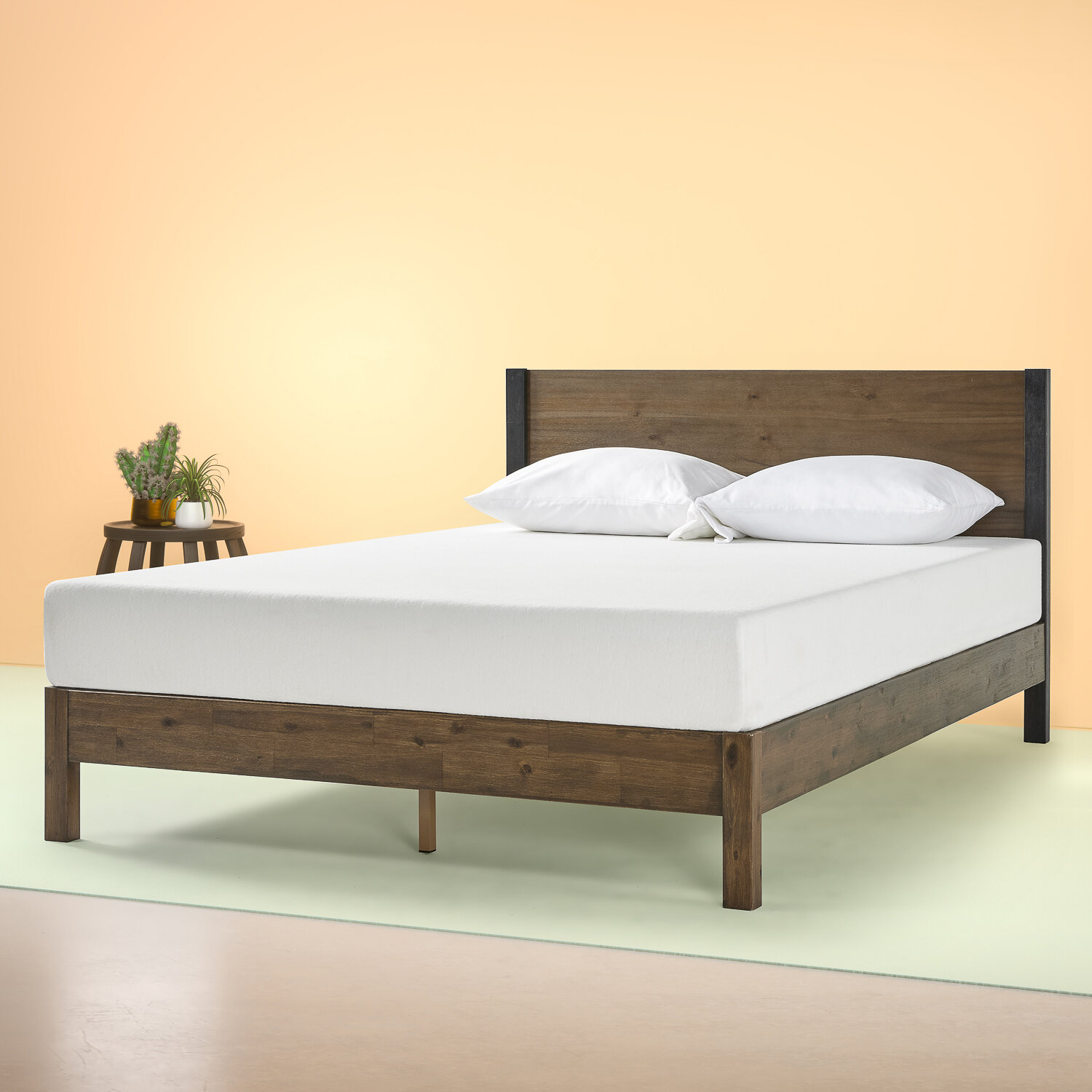 Picture of: Foundry Select Prinsburg Solid Wood Low Profile Platform Bed Reviews