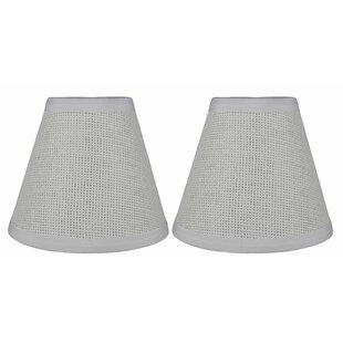 6 Paper Hardback Empire Lamp Shade (Set of 2)