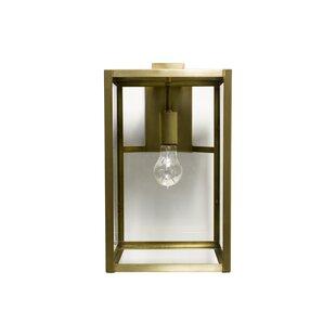 Find Escamilla 1-Light Outdoor Wall Lantern By Brayden Studio