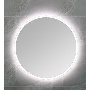Sipple Backlit Lighted Vanity Mirror by Orren Ellis