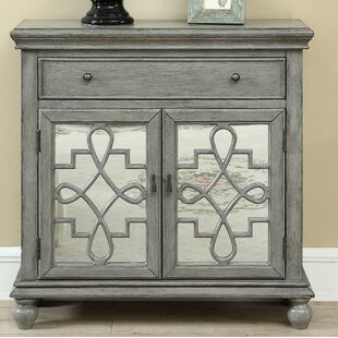 Guerin 2 Door 1 Drawer Accent Cabinet by Bungalow Rose