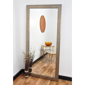 silver studio tall vanity wall mirror