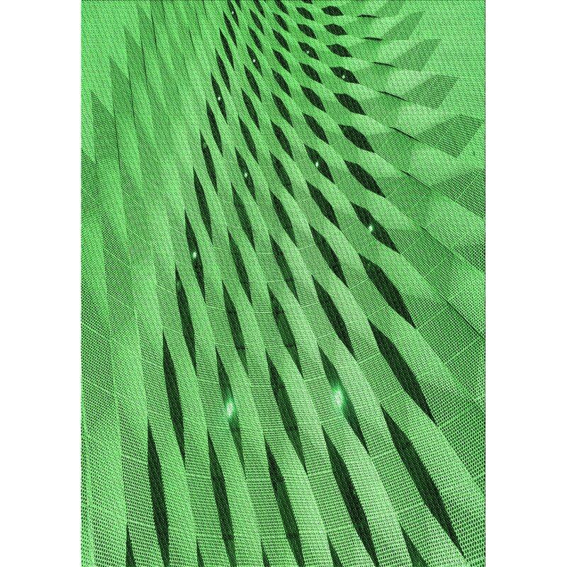 East Urban Home Deodar Abstract Wool Green Area Rug Wayfair