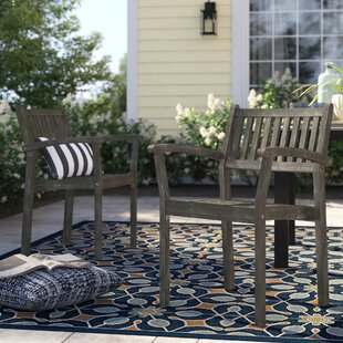 Matoury Stackable Patio Dining Chair (Set of 2) by Sol 72 Outdoor