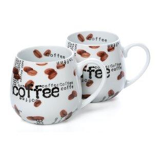 Snuggle Coffee Collage 12 oz. Mug (Set of 2)