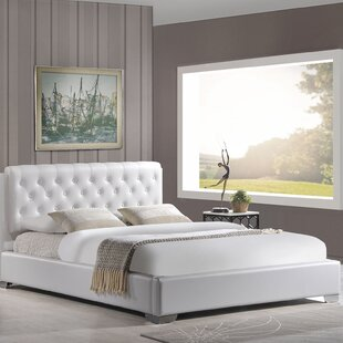 Crum King Upholstered Platform Bed by Alcott Hill