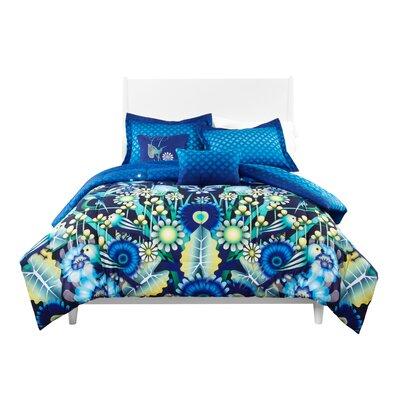 Catalina Estrada  Jardin Reversible Comforter Set  Size: King